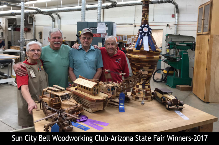 Awards – Bell Woodworking Club of Sun City State Fair Awards